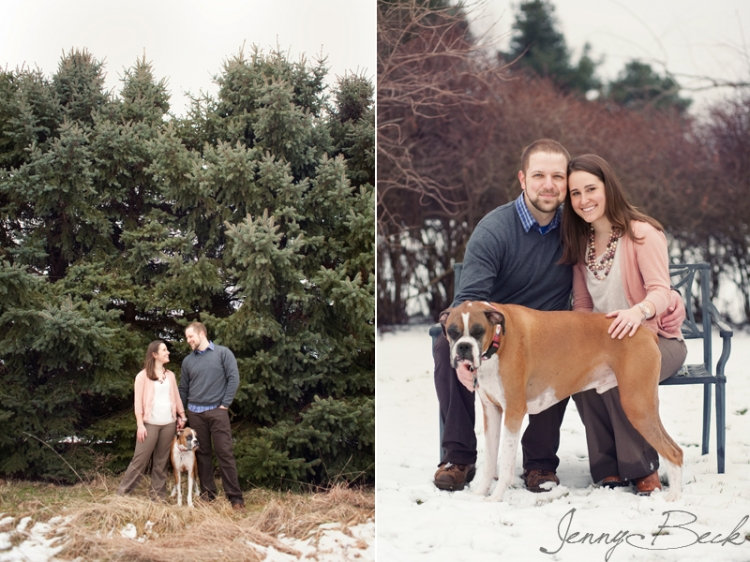 columbus ohio engagement portrait photographer